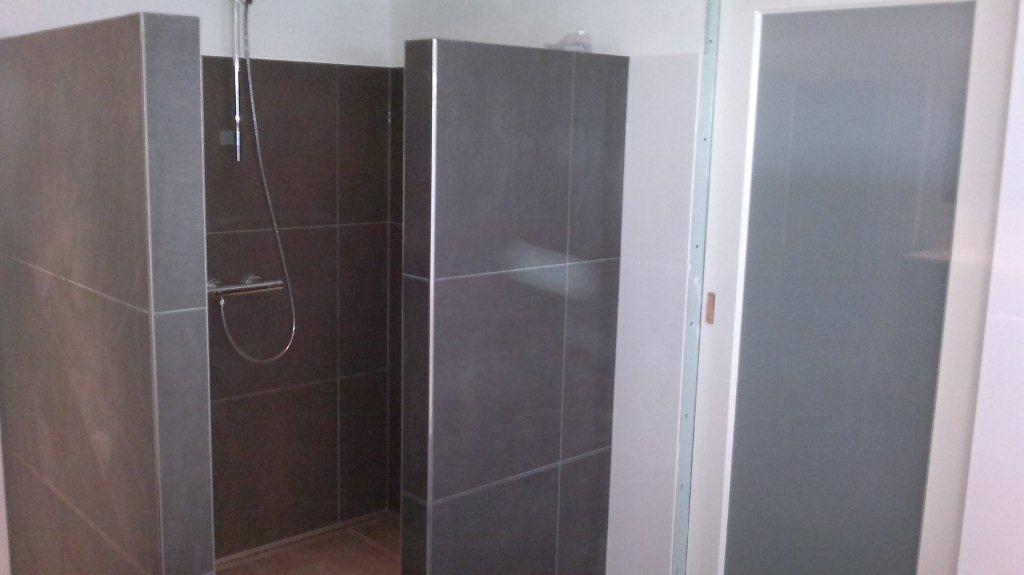 Tegels Badkamer Stroken ~ Nieuwe badkamer  Timmer en afbouwbedrijf W van der WoudeTimmer en