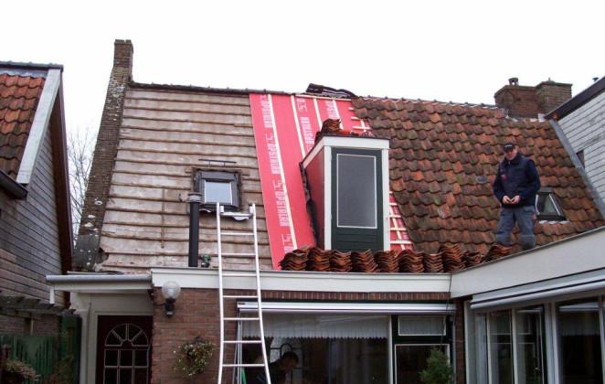 Vervangen dakpannen